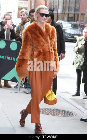 New York, USA. 11th Apr 2019. Jamie King at Build Series to talk about her new series Black Summer in New York April 11, 2019 Credit:RW/MediaPunch Credit: MediaPunch Inc/Alamy Live News - Stock Photo