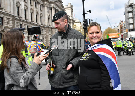 London, UK. 12th Apr 2019. Soldier F is to face two murder charges and four attempted murder charges over the infamous massacre of 14 civil rights demonstrators by British paratroopers in Derry at the height of the Troubles on January 30, 1972. Credit: Picture Capital/Alamy Live News - Stock Photo