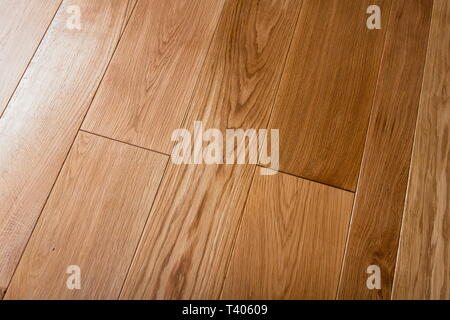 texture of natural oak planks - Stock Photo