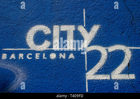 Barcelona City 22 urban project, Diagonal del Mar area, Barcelone, Catalonia, Spain - Stock Photo