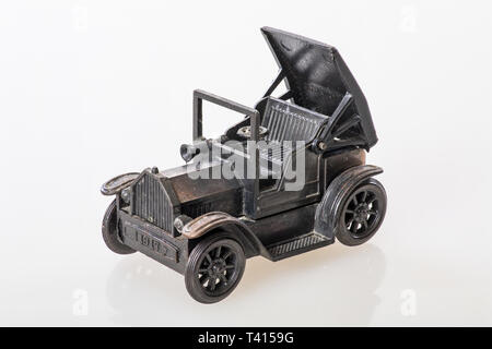 Close - up of an oldtimer model - Focus stacking - Stock Photo