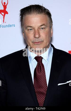 New York, NY, USA. 12th Apr, 2019. Alec Baldwin at arrivals for Exploring the Arts 20th Anniversary Gala, Hammerstein Ballroom, New York, NY April 12, 2019. Credit: Steve Mack/Everett Collection/Alamy Live News - Stock Photo