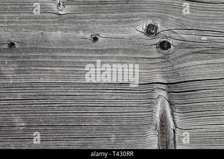 Texture of wooden plank fence. Similar texture could also be found from a wall or floor. Photographed in Nyon, Switzerland. Closeup photo. - Stock Photo