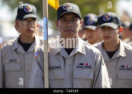 Sunburst Youth Challenge Academy Cadet and new high school