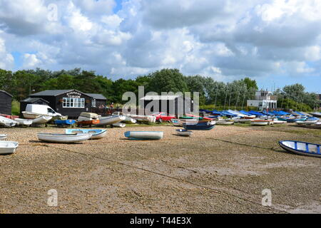 Orford Quay, Orford, Suffolk, UK - Stock Photo