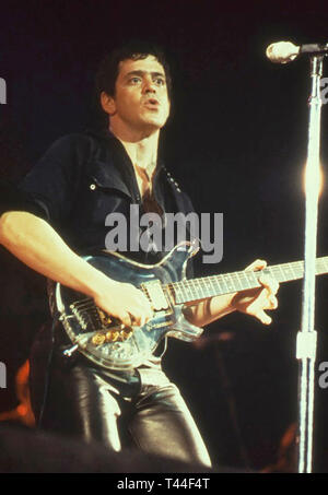 LOU REED (1942-2013) American rock musician about 1980 - Stock Photo