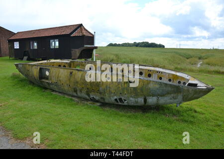 Debach Airfield Museum, 493rd Bomb Group, Suffolk, UK. Home of Helton's Hellcats Station 152 USAAF 1944-45 occupied by the American 8th Army Air Force - Stock Photo