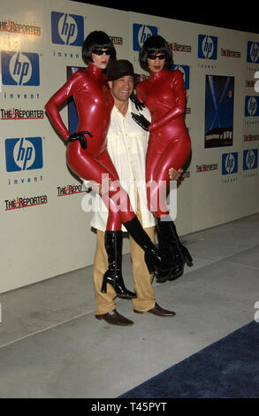 LOS ANGELES, CA. January 30, 2003: Actor DORIAN GREGORY at party at the Pacific Design Center, Los Angeles, to preview the latest products from Hewlett Packard.  © Paul Smith / Featureflash - Stock Photo