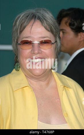 LOS ANGELES, CA. July 10, 2003: Actress KATHY BATES at the Los Angeles premiere of Northfork. - Stock Photo