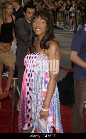LOS ANGELES, CA. July 21, 2003: NONA GAYE at the world premiere of Lara Croft Tomb Raider: The Cradle of Life, at Grauman's Chinese Theatre, Hollywood. - Stock Photo