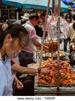 Shanghai Street Scenes - Stock Photo