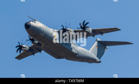 Airbus A400M Atlas of the German Air Force Luftwaffe - Stock Photo