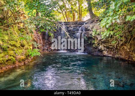Cascadas Gemelas, Veracruz, Mexico - Stock Photo