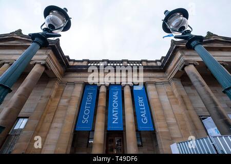 Scottish National Gallery art museum, Edinburgh, Scotland, United Kingdom, Europe