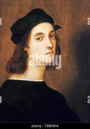 Raphael (1483–1520), self portrait aged 23, c. 1506 - Stock Photo