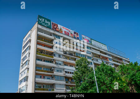 Wohnhaus, Neustadt, Plovdiv, Bulgarien - Stock Photo