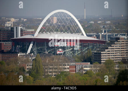 16 April 2019, North Rhine-Westphalia, Köln: The Lanxess Arena in Cologne. Photo: Oliver Berg/dpa - Stock Photo