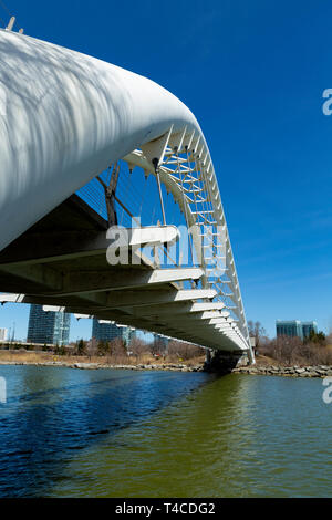 Humber Bay Arch Bridge. Toronto Ontario Canada 2019