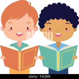 kids world book day - Stock Photo