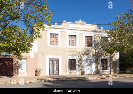 Historic Colonial architecture in the town of McGregor, formerly Lady Grey, Robertson Wine Valley, Western Cape, South Africa - Stock Photo