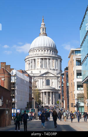 St Paul's Cathedral, London, England, United KIngdom.