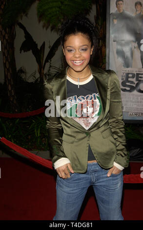 LOS ANGELES, CA. January 27, 2004: Singer FEFE DOBSON at the world premiere, in Hollywood, of The Perfect Score. - Stock Photo