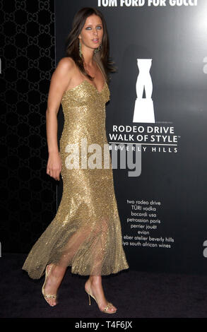 LOS ANGELES, CA. March 28, 2004: NIKKI HILTON at the Rodeo Drive Walk of Style Gala honoring Gucci's Tom Ford. - Stock Photo