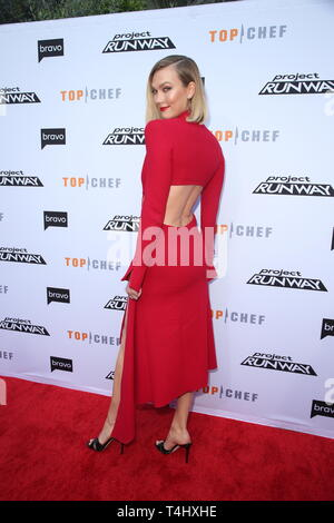 Los Angeles, Ca, USA. 16th Apr, 2019. Karlie Kloss attends Bravo's Top Chef and Project Runway Event, Los Angeles California on April 16, 2019 Credit: Faye Sadou/Media Punch/Alamy Live News - Stock Photo