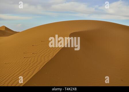 Taken @Merzouga, Berber tribe, Sahara desert, Morocco, North Africa - Stock Photo