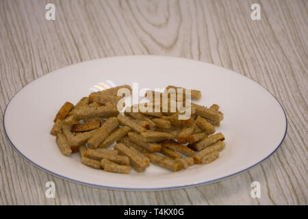 crispy rusk cake rusk biscuits biscuits gravy - Stock Photo