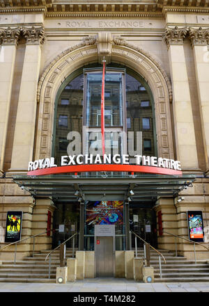 The Royal Exchange Theatre, Manchester, England, United Kingdom - Stock Photo