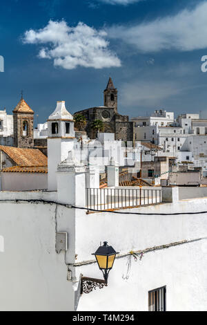 Vejer de la Frontera, Andalusia, Spain - Stock Photo