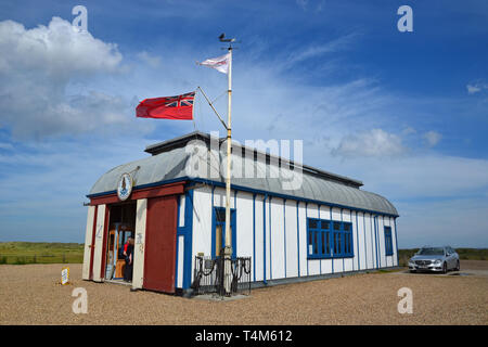 Alfred Corry Lifeboat Museum, Southwold, Suffolk, UK - Stock Photo