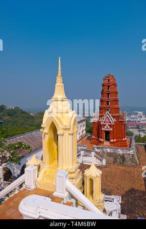 Wat Phra Kaew Noi, Phra Nakhon Khiri Historical Park, Phetchaburi, Thailand - Stock Photo