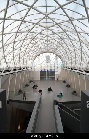 View from the third floor of the Imperial War Museum London, UK - Stock Photo