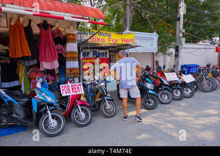 Bike And Scooter For Hire Rental Shop Protaras Republic Of