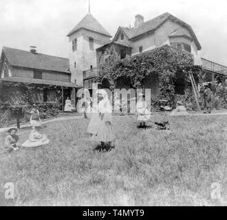 California History Oak Knoll Farm House Near Napa Napa Co Ca 1866 Stock Photo Alamy