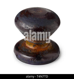 Vintage wooden rubber stamp - Stock Photo
