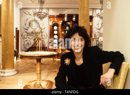 Olga Polizzi is Director of Design at Rocco Forte Hotels and Deputy Chairman of the company, she also has two of her own hotels in the West Country – Hotel Tresanton in Cornwall and Hotel Endsleigh in Devon. Shot for The Antique Collector in the 1980s.