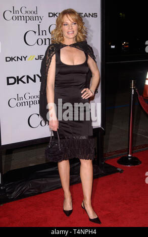 LOS ANGELES, CA. December 06, 2004:  Actress MARG HELGENBERGER at the world premiere of her new movie In Good Company, at the Grauman's Chinese Theatre, Hollywood. - Stock Photo