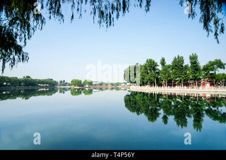 Beijing shichahai scenery - Stock Photo