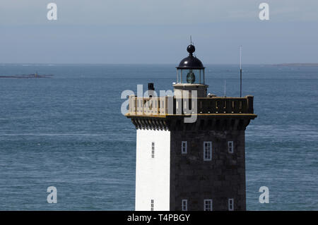 Le Conquet Lighthouse, Brittany, France. - Stock Photo