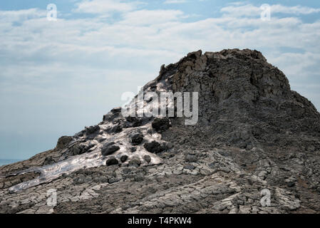 Mud volcano, Gobustan, Azerbaijan - Stock Photo