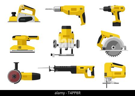 Power electric tools - Stock Photo