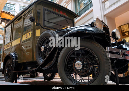 1931 Ford Model A Mail Truck - Stock Photo
