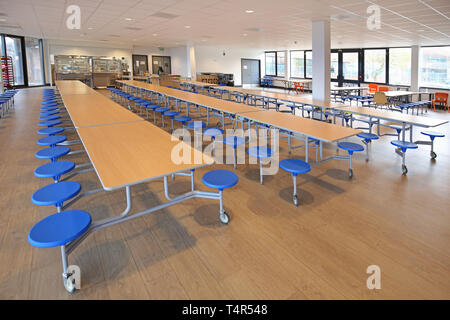 Interior Of An Assembly Hall At A New London Academy