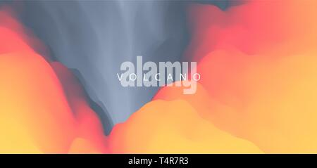 Lava. Abstract background. Modern pattern. Vector illustration for design. - Stock Photo