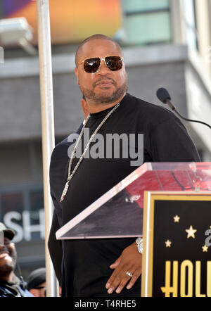 Los Angeles, California, USA. 18th Apr, 2019. Xzibit at the Hollywood Walk of Fame Star Ceremony honoring hip-hop group Cypress Hill. Pictures: Paul Smith/Featureflash Credit: Paul Smith/Alamy Live News - Stock Photo