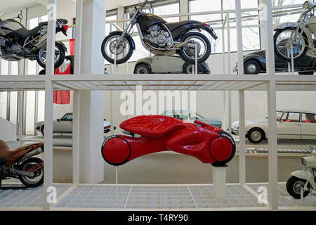 Expositionsdesign, Pinakothek der Moderne, Munich, Bavaria, Germany - Stock Photo