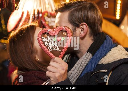 Love Letter With A Heart And The Message Ich Liebe Dich German